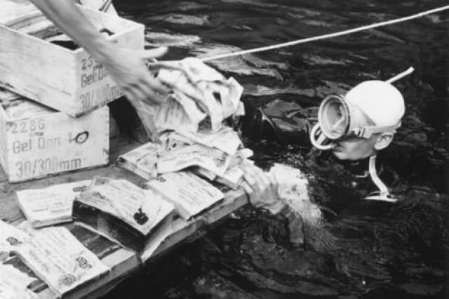 Окутанное мрачной славой озеро продолжало манить авантюристов из разных стран и собирать кровавый урожай. Осенью 1983 года на дно озера спустился опытный аквалангист из Западной Германии А.Агнер. Он проигнорировал строжайший запрет местных властей предпринимать самостоятельные попытки выведать у Топлицзее его тайны.