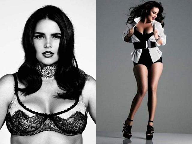 """Сейчас девушка все чаще снимается для глянца. Все началось в 2010 году, когда журнал """"V Magazine"""" выпустил специальный номер, посвященный моделям с разными формами и размерами."""