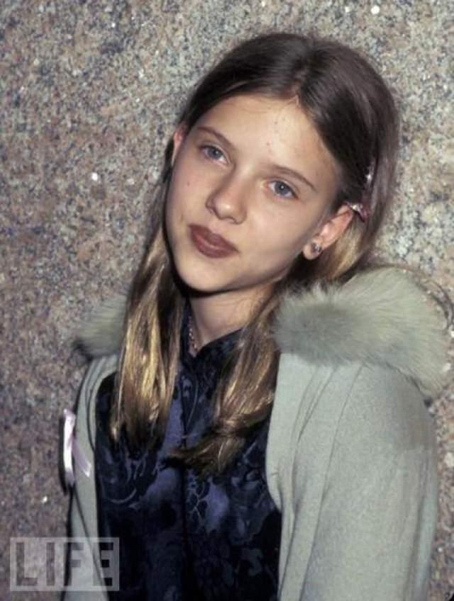 Скалетт Йоханссон в 11 лет