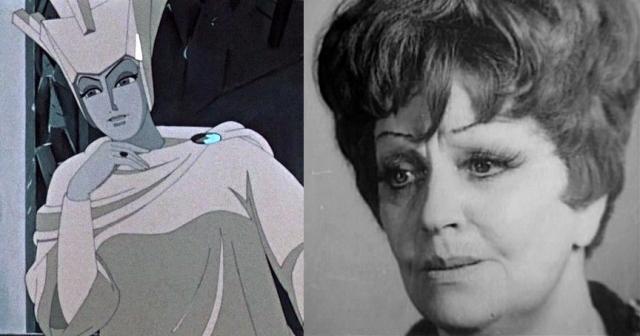 """Снежная Королева"", 1957 год. Королева - Мария Бабанова."
