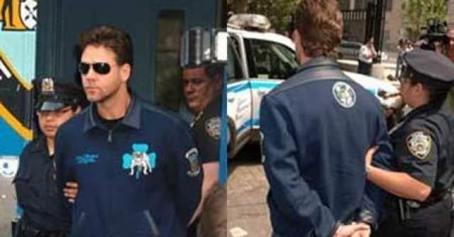 """По данным полиции, конфликт возник в отеле """"Марсер"""", где остановился 41-летний актер, обладатель """"Оскара"""" за 2001 год. Кроу из своего номера несколько раз безуспешно попытался позвонить жене в Австралию. Оказалось, что телефон неисправен, и он потребовал его замены."""