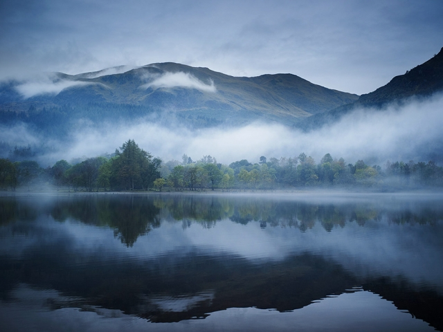 Озеро Лох-Несс в Шотландии. Jan Michael Hosan, fotogloria/LUZphoto, Redux