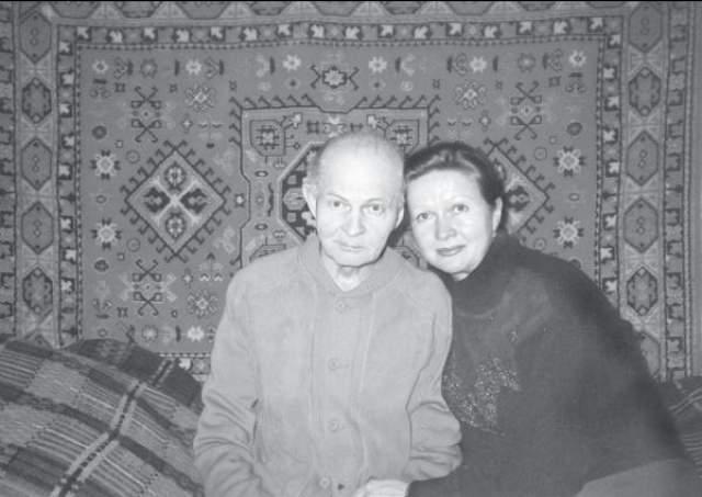 Наталья Гундарева с отцом Георгием Макаровичем.
