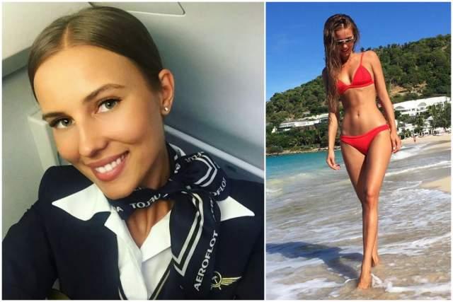 """Сегодня она стюардесса бизнес-класса """"Аэрофлот"""", которую как написал однажды Maxim, """"постоянно снимают в рекламных компаниях""""."""