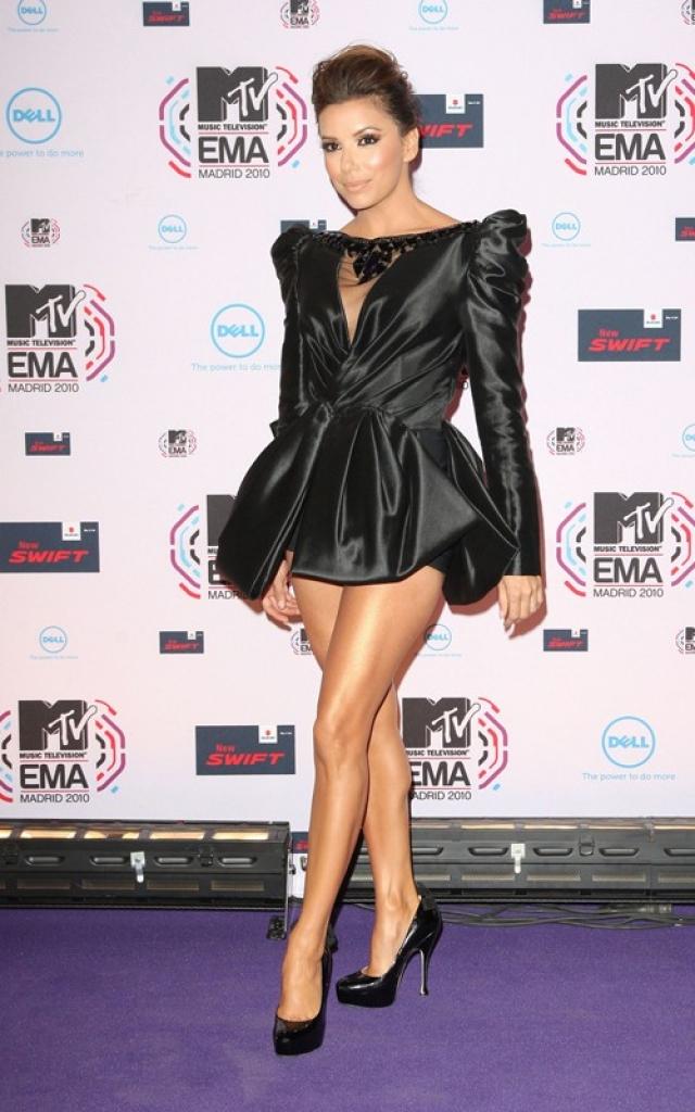 Ева Лонгория. Звезда решила произвести впечатление на зрителей MTV Europe Music Awards.