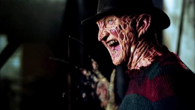 """Фредди Крюгер """"Кошмар на улице Вязов"""" Страшный сон наяву - так лаконичнее всего можно представить классических фильм ужасов Уэса Крейвена, заглавный герой которого и является в некотором смысле страшным сном."""