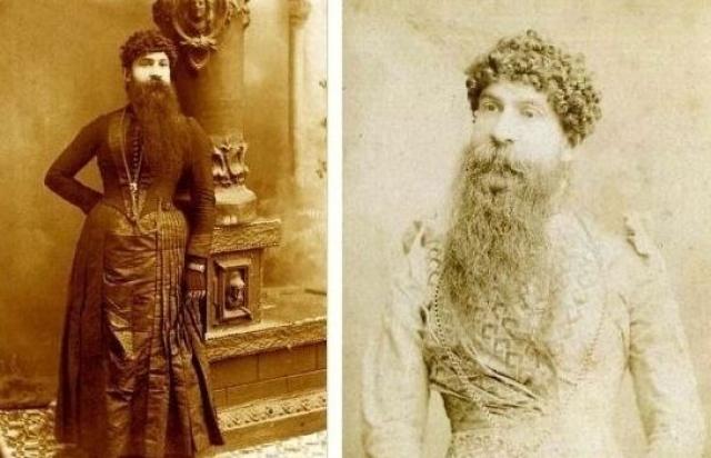 Дженис Девери (США) одержала первенство среди женщин по длине бороды 36 см (в 1884 году).