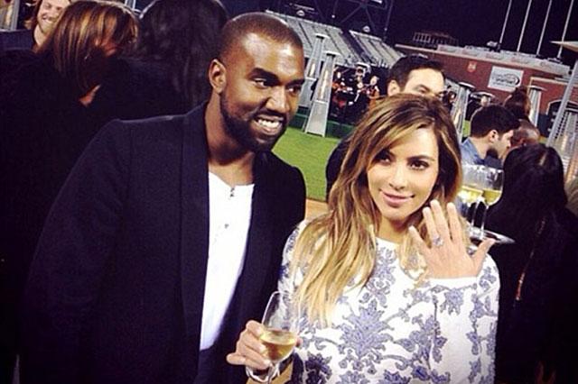 До этого, в честь помолвки, Канье Уэст подарил девушке уникальное кольцо с редчайшим тигровым алмазом. Стоимость украшения оценивается в 500 тысяч евро.