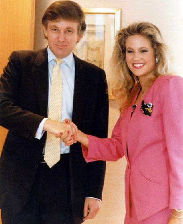 Мелания стала третьей женой Дональда Трампа: с Иваной Зельничковой (на фото) он прожил в браке 15 лет, а с Марлой Мейплз — девять.