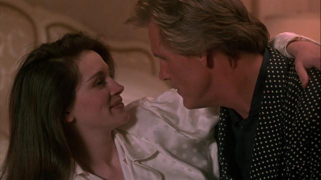 На съемках фильма с Ником Нолти Робертс превзошла сама себя, конфликт между актами перешел в столь горячую фразу, что даже в некоторых диалоговых сценах пришлось снимать отдельно друг от друга.