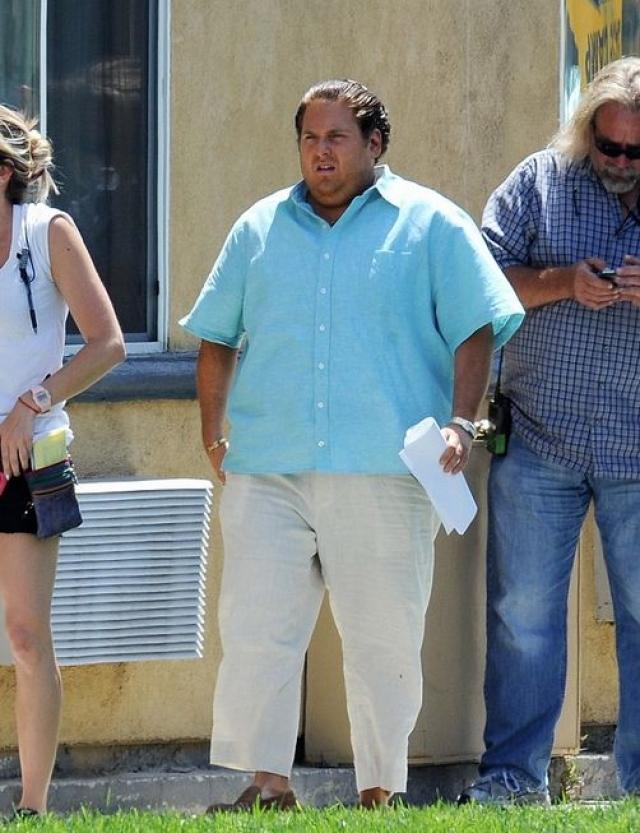 Джона Хилл. Исполнитель ролей комичных толстяков в один прекрасный момент решил, что с него хватит.