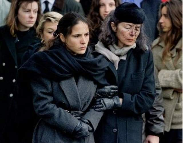 После смерти Миттерана семья бывшего президента запретила Анн Пенжо присутствовать на похоронах, но под давлением общественности была вынуждена разрешить. Анн Пенжо и ее дочь присутствовали на всех официальных траурных церемониях и похоронах экс-президента, которые прошли в узком семейном кругу вдали от Парижа.