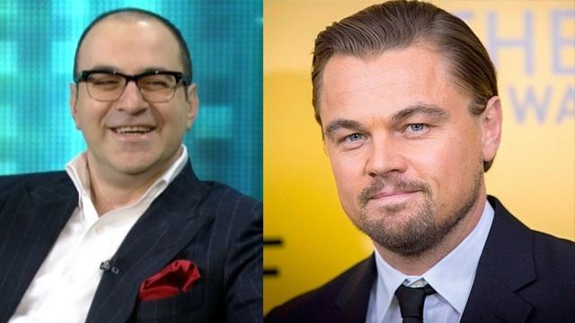 Гарик Мартиросян и Леонардо Ди Каприо (43 года). А вы догадывались, что российский ведущий и голливудский актер - одногодки?