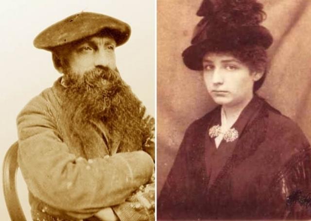 С того самого дня она служила моделью для скульптора и помогала в мастерской, а вскоре стала его любовницей и музой.