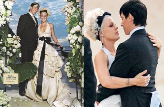 Они поженились в Коста-Рике 7 января 2006 года.