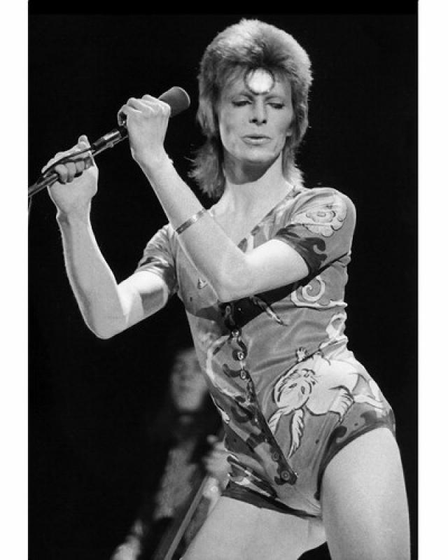 Дэвид Боуи. Известный британский рок-певец был женат на модели Анджеле Барнетт, которая родила Дэвиду сына Зоуи. Следующей женой певца стала тоже модель - Иман Абдулмаджид, которая родила ему дочь.