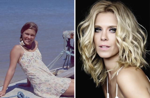 Каролина Дикманн. Юная девушка с цветами в косичках выросла. Сейчас ей 37, она снимается в кино и стала настоящей красавицей.