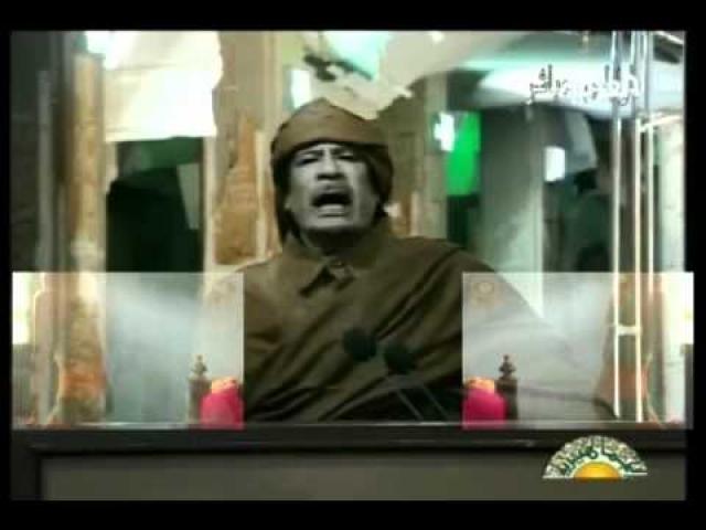 У Каддафи даже был свой музыкальный хит - Zenga Zenga Song собрал на Youtube почти четыре миллиона просмотров. Ролик сделал один израильский журналист: он собрал речевки из выступлений вождя и наложил их на электронную музыку.