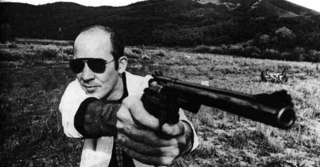 """Самой известной работой Томпсона, наверное, является """"Страх и ненависть в Лас-Вегасе"""", который был позже экранизирован и в котором Джонни Депп сыграл самого Томпсона."""