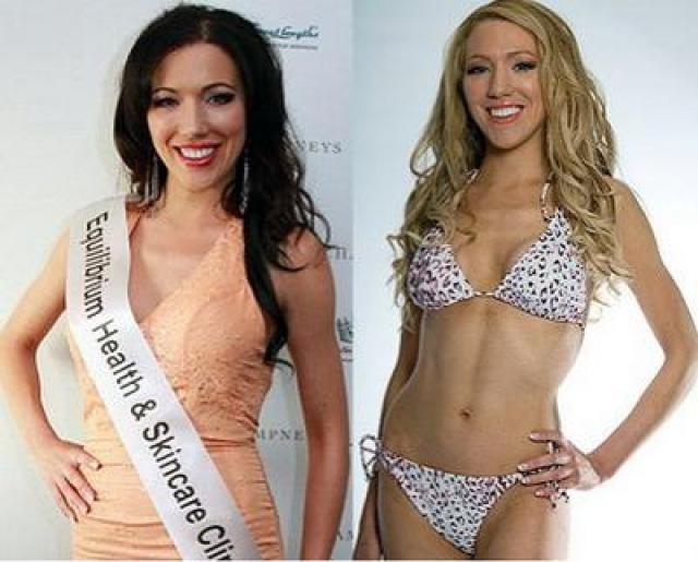 """В 2010 Лора Эннс была отстранена от участия в конкурсе """"Мисс Британия"""" после того, как выяснилось, что в прошлом девушка занималась проституцией."""