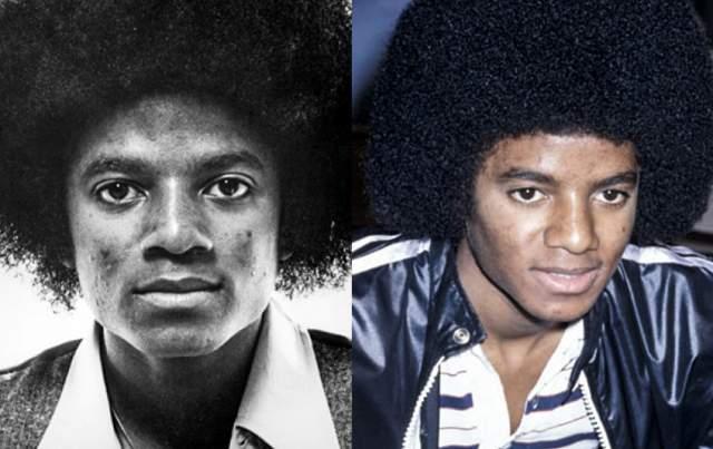 С пяти до восемнадцати лет Джексон оставался таким, какой есть - то есть с темным цветом кожи и густыми черными мелко вьющимися волосами.