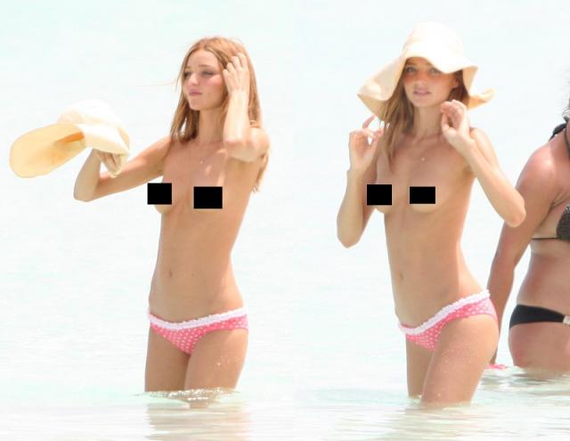 Миранда Керр никогда не стеснялась демонстрировать свое тело на фото и на ковровых дорожках.