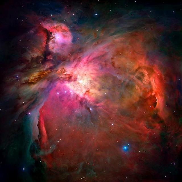На этом невероятном кадре запечатлена Туманность Ориона.