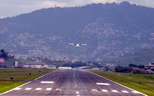 Аэропорт Тонконтин вТегусигальпе (Гондурас)
