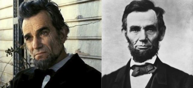 """Дэниэл Дэй-Льюис и Авраам Линкольн, """"Линкольн"""""""