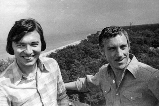 Карел Готт и Владимир Высоцкий, 1972.