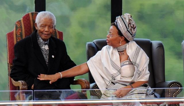 31 августа 1996 года президент ЮАР Нельсон Мандела признался, что Граса Машел долгое время была его любовницей.