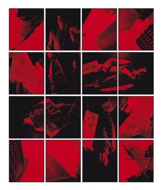 """""""Кровавая жизнь № 13"""" , фотоколлаж - $1 999 003, Гилберт и Джордж."""