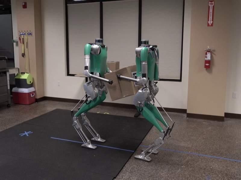 Роботы Digit научились работать командой