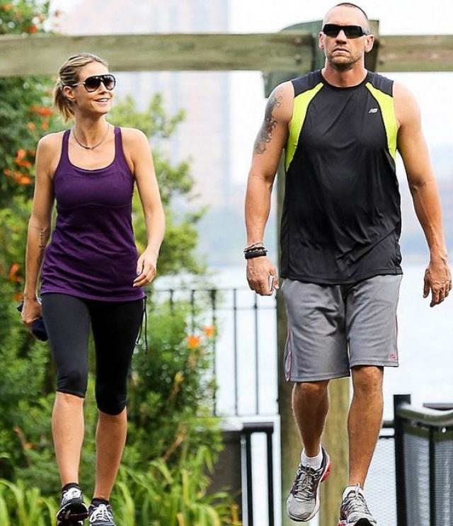 Хайди Клум. Брак супермодели и певца Сила считался идеальным, но неожиданно стало известно, что она изменила мужу с собственным телохранителем Мартином Кристеном.