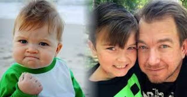 Позднее, копаясь в этой истории, пользователи Сети узнали, что мальчика зовут Сэмми, и на момент съемки ему было 11 месяцев. Причем пришедшая к Сэмми Гринеру популярность помогла его семье собрать деньги на операцию для отца.