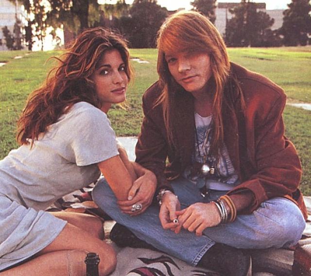 Стефани Сеймур. Супермодель была возлюбленной Эксла Роуза из Guns N' Roses в начале 90-х.