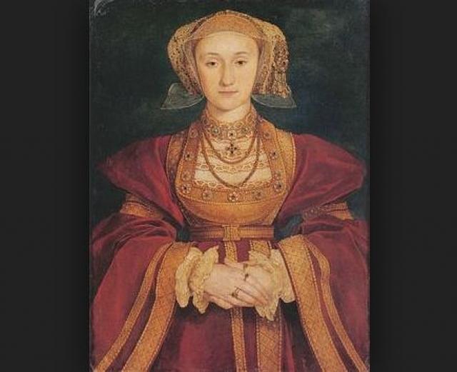 Следующий брак развалился из-за... портрета. Портрет Анны Клевской монарху понравился, а сама невеста - нет. Так что буквально через полгода брак был аннулирован.