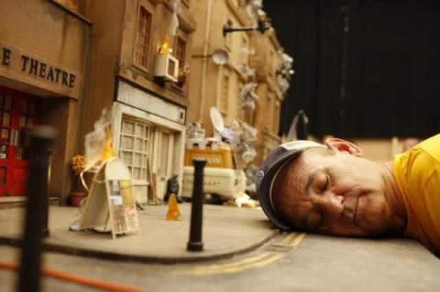 "Фантастический мистер Фокс Билл Мюррей буквально ""на съемочной площадке"""