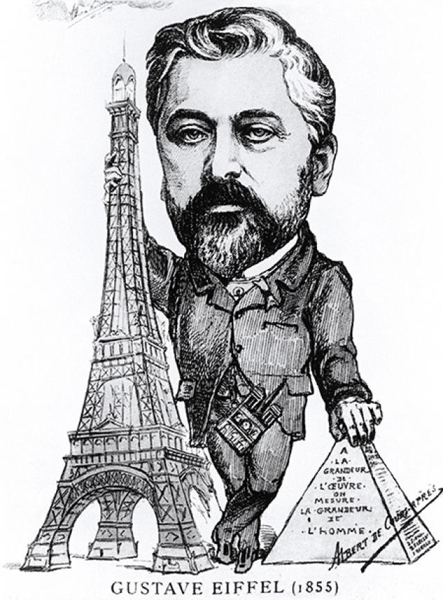Густав Эйфель. Забавно, но создатель знаменитой Эйфелевой башни панически боялся высоты.
