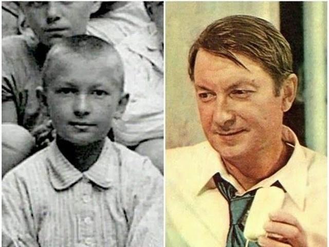 Георгий Вицин с двенадцати лет начал выступать на школьной сцене, как правило, в амплуа отрицательных героев.
