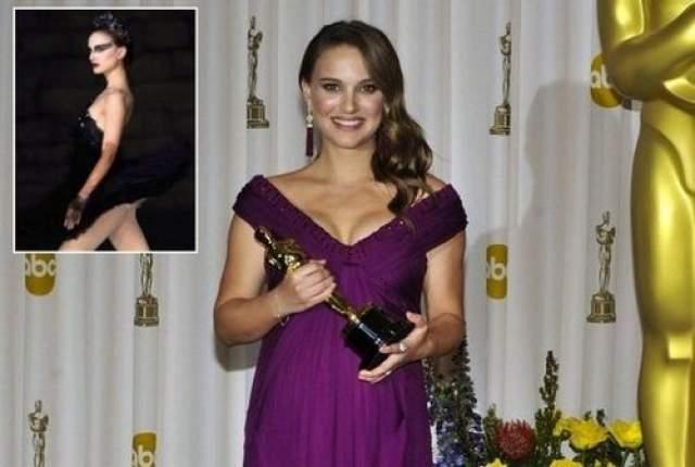 """Ее старания и страдания окупились. За роль амбициозной балерины Натали Портман получила премию """"Оскар""""."""