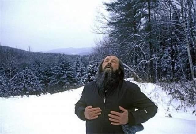Свободное дыхание Александра Солженицына.