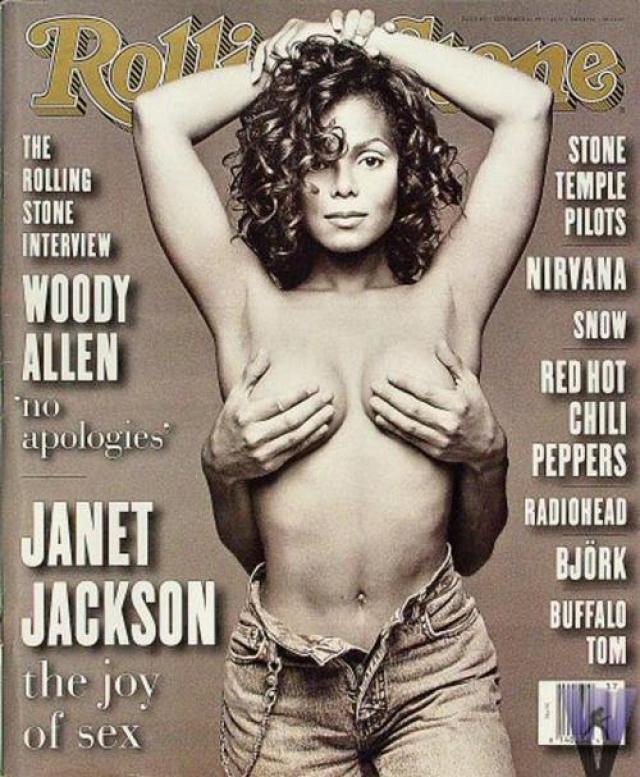 Этот оригинальный бюстгальтер, в котором Джанет Джексон появилась на обложке журнала «Rolling Stone» в 1993 году, помог ей стать самым настоящим секс-символом...