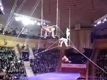 Российская воздушная гимнастка разбилась во время выступления в Гомеле