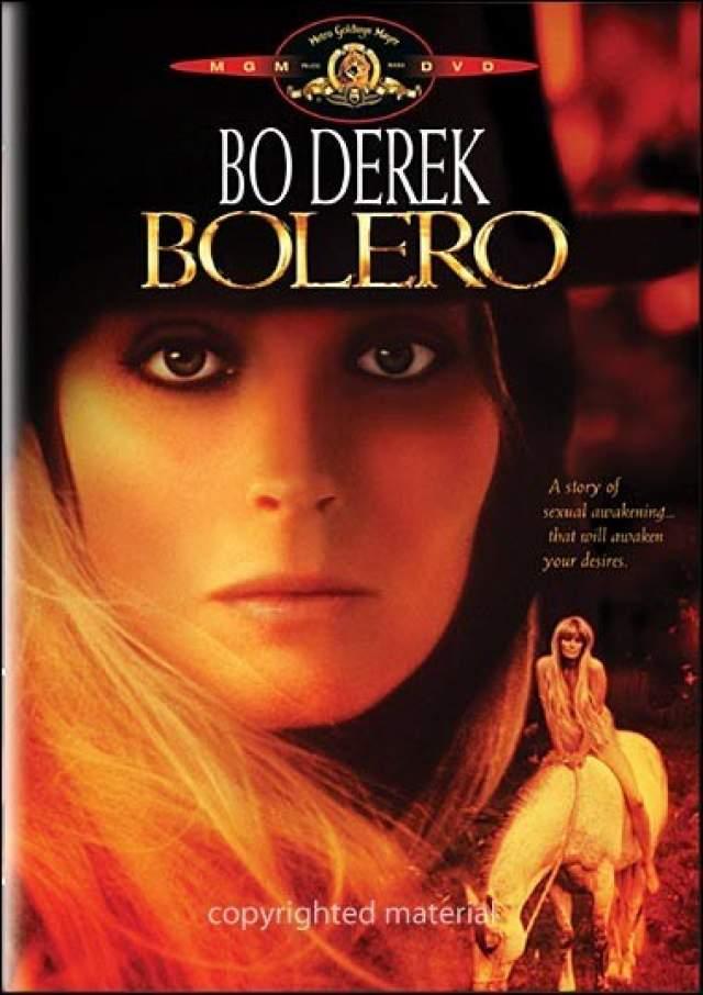 """Бо Дерек , почетная обладательница трех """"Золотых малин"""" как худшая актриса - это второй результат после Мадонны, а также была признана в 1991-м худшей актрисой десятилетия."""