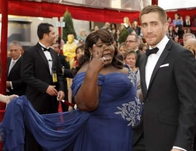 """""""Кто на этом снимке главный: спросите вы, - Габури Сидибе или Джейк Джилленхол?"""". А разве это важно, когда в кадре такая женщина!?"""