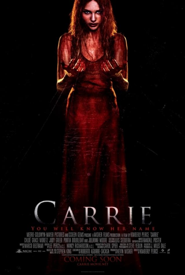 """""""Телекинез"""" . По оригинальному названию триллера 2013 года """"Carrie"""" можно сразу понять, что это адаптация одноименного романа Стивена Кинга """"Кэрри""""."""