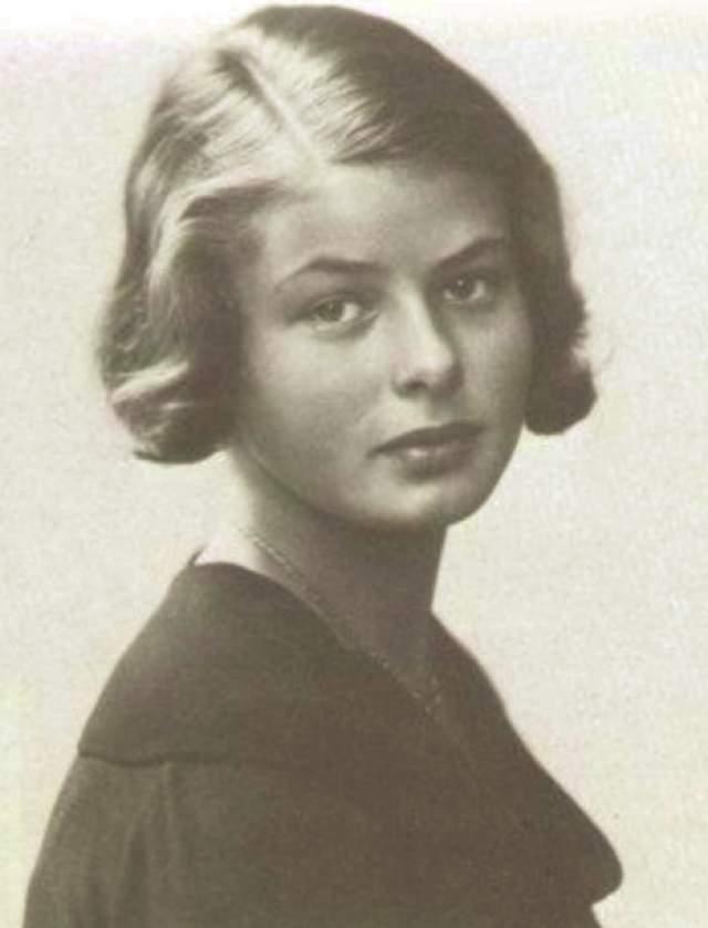 Ингрид Бергман. Когда ей было два года, умерла мать. Спустя еще 10 лет из жизни ушел отец, который был очень близок девочке и поддерживал ее стремления стать актрисой.