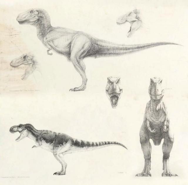 9 минут показывают аниматронных кукол Уинстона и еще 6 минут – нарисованных ящеров.