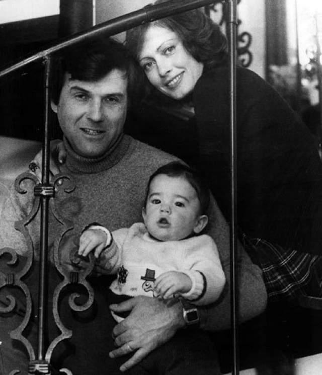 Виктория Федорова с мужем-американцем Ричардом и сыном Кристофером.